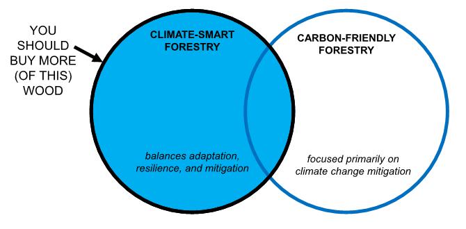 silvicoltura intelligente per il clima