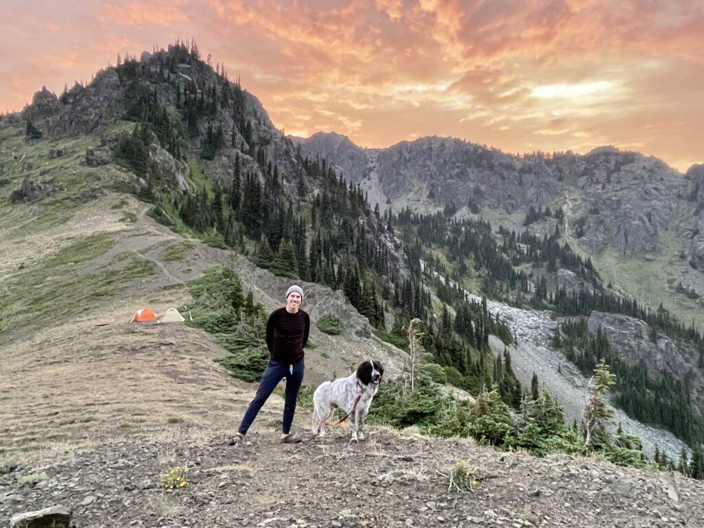 Brad sulla montagna olimpica